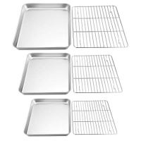 Baking Sheet with Rack Set