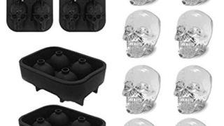3D Skull Ice Mold