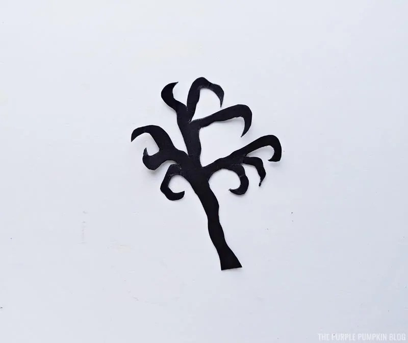 Haunted House Pieces - Creepy Tree