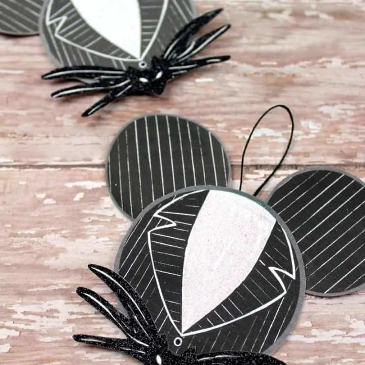 Jack Skellington Ornament Craft