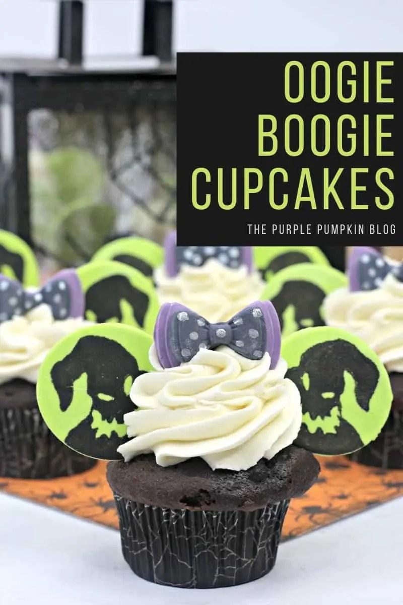 Oogie Boogie Nightmare Before Christmas Cupcakes