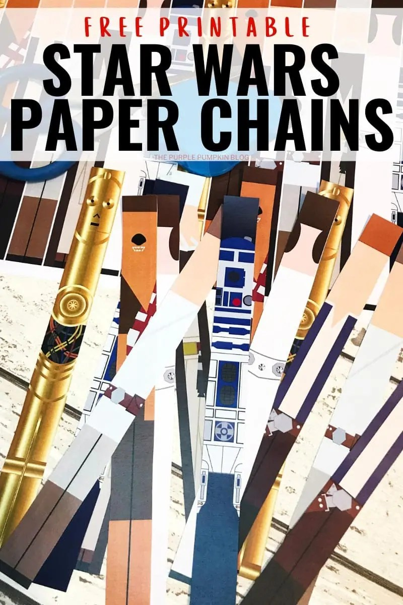 free printable star wars paper chains