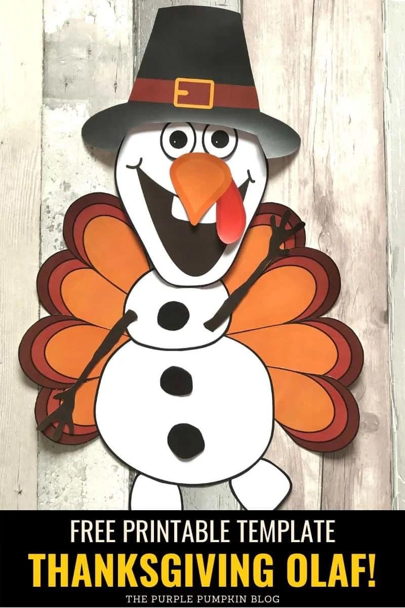 Thanksgiving Turkey Olaf