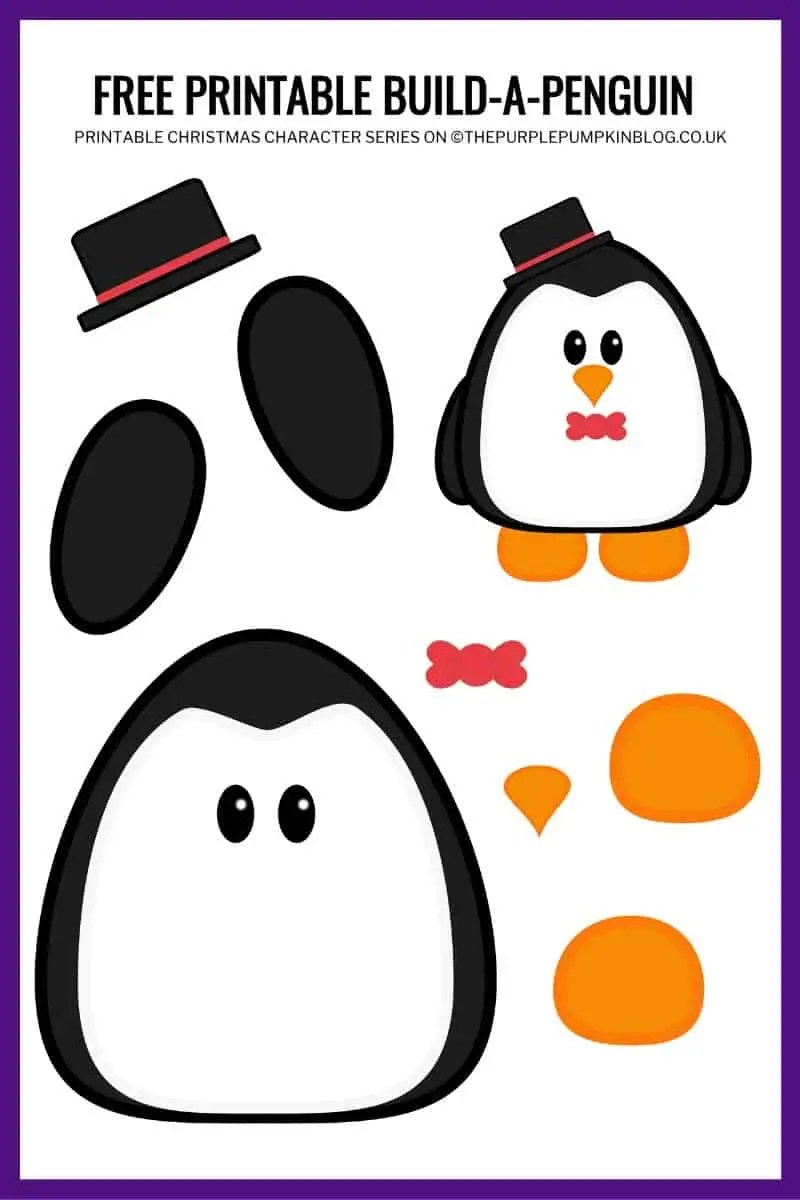 Printable-Penguin-Template