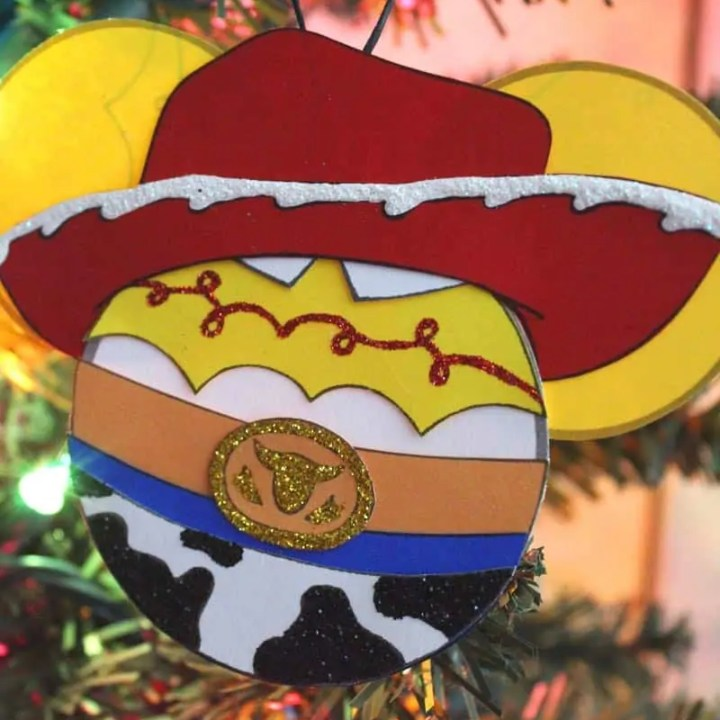 Toy Story Jessie Ornament Craft