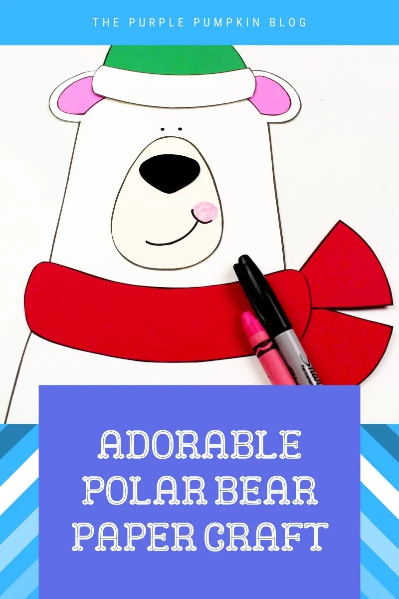 Adorable-Polar-Bear-Paper-Craft