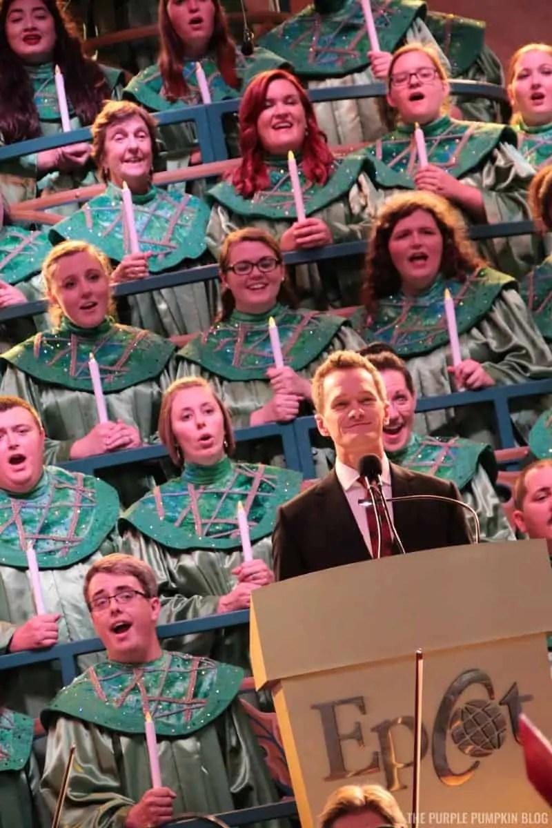 Neil Patrick Harris at Epcot