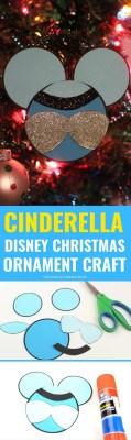 Cinderella Disney Christmas Ornaments Craft