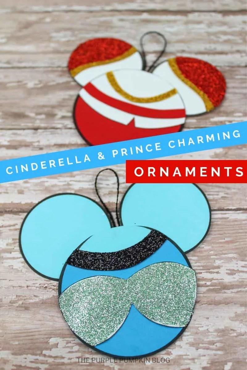 Cinderella & Prince Charming Ornaments