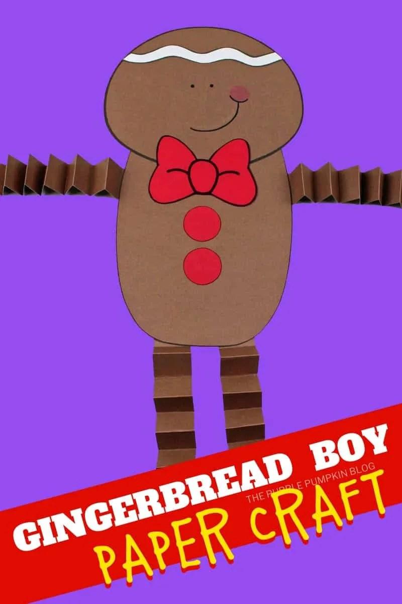 Cute-Gingerbread-Boy-Paper-Craft
