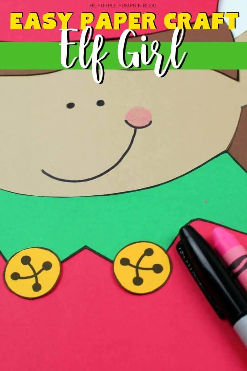 Easy-Paper-Craft-Elf-Girl