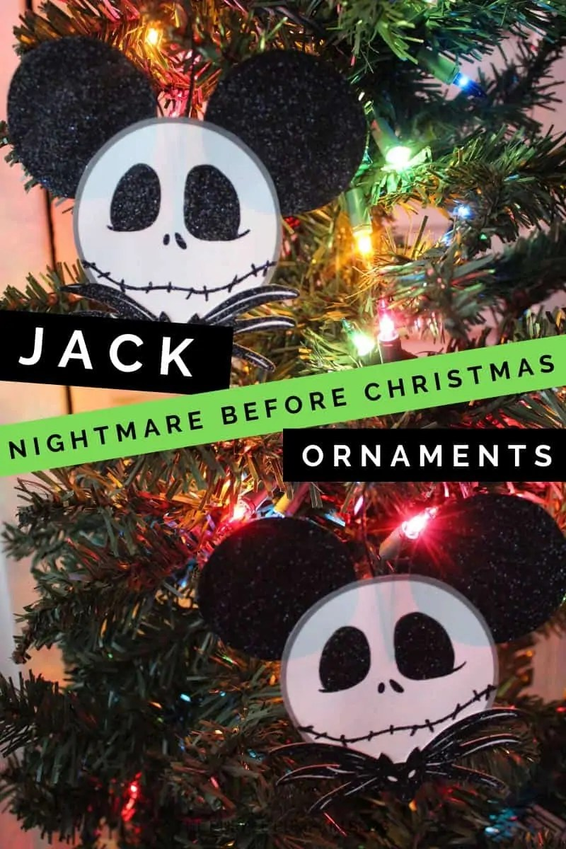 Jack Nightmare Before Christmas Ornaments