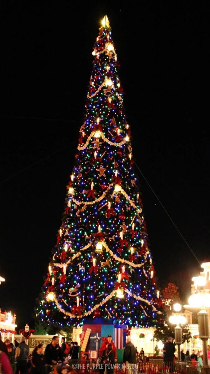 Walt Disney World Christmas Phone Wallpaper Magic Kingdom Christmas Tree