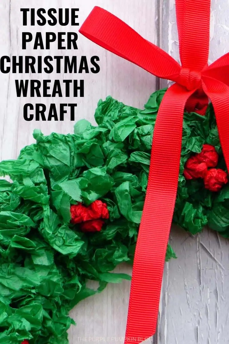 tissue-paper-christmas-wreath-craft