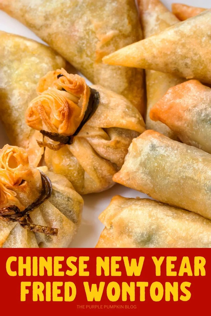 Chinese New Year Fried Wontons
