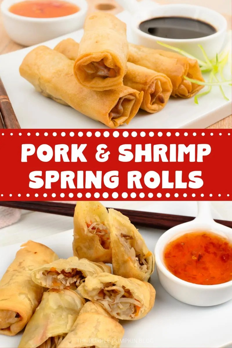 Pork & Shrimp Spring Rolls