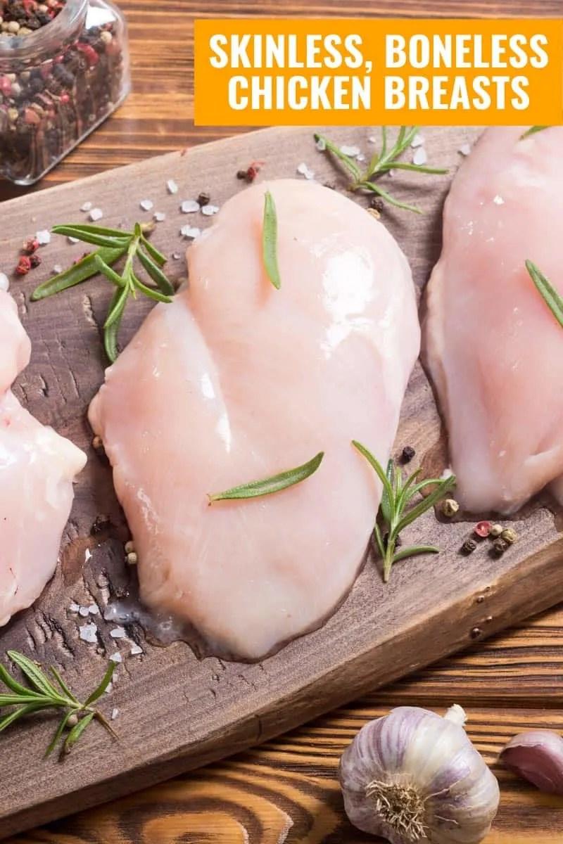 Skinless Boneless Chicken Breasts