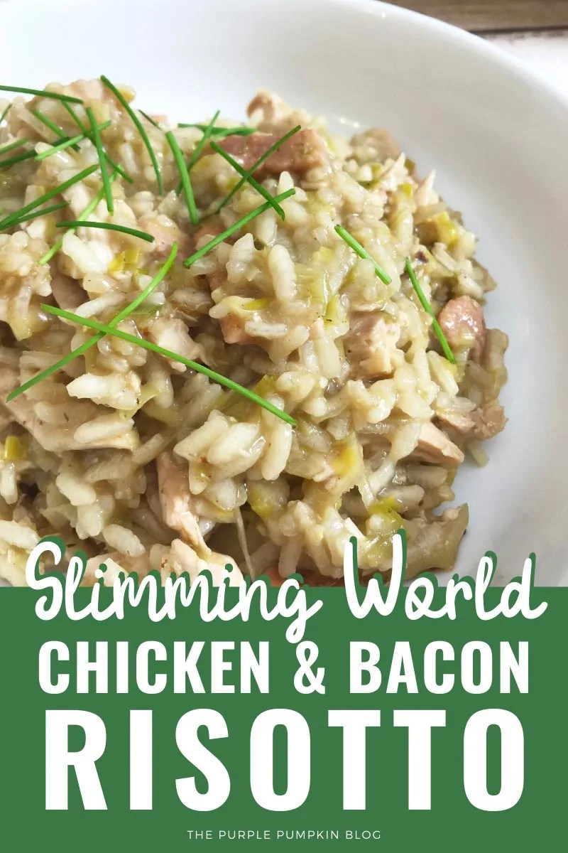 Slimming World Chicken & Bacon Risotto