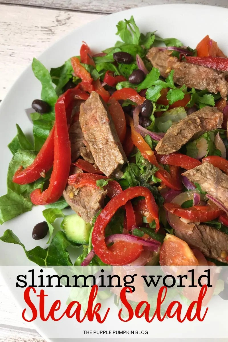 Slimming World Steak Salad