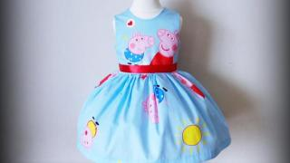 Peppa Pig Handmade Dress