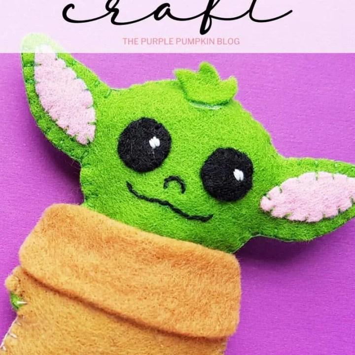 DIY Baby Yoda Plush