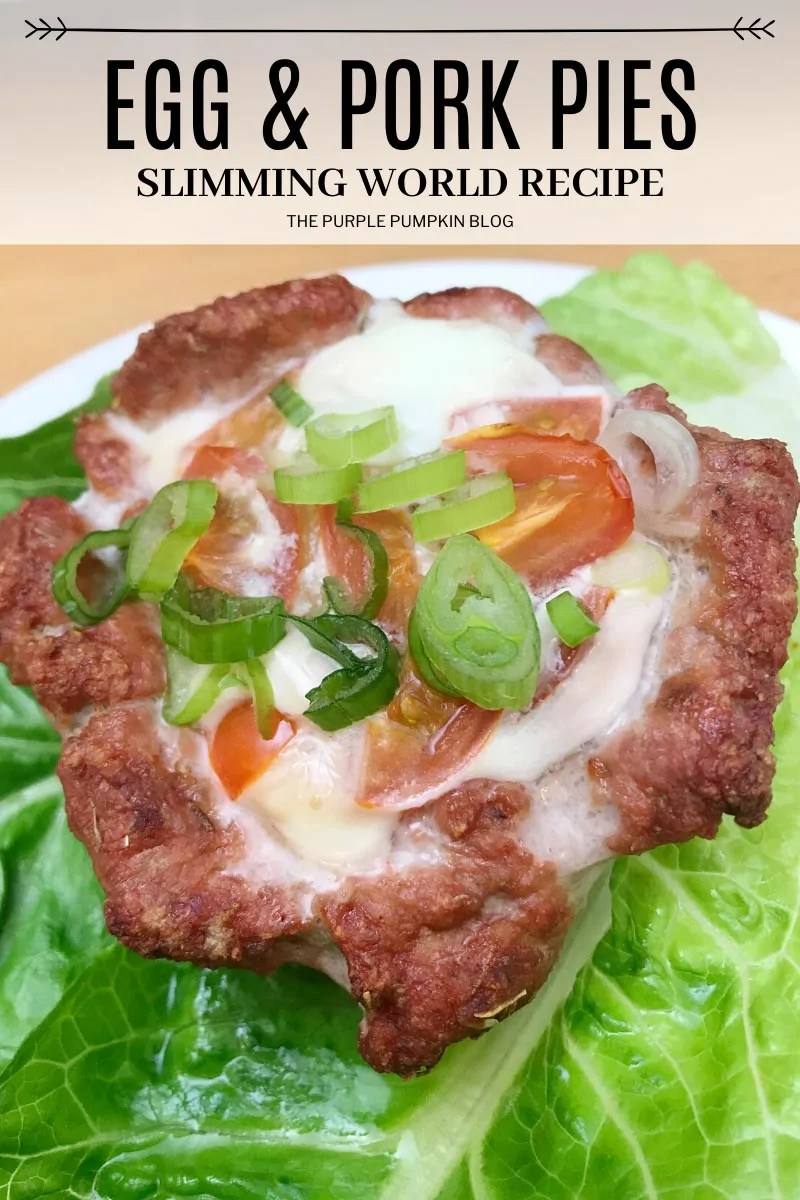 Egg & Pork Pies - Slimming World Recipe