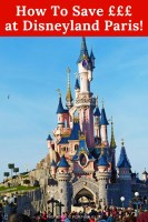 How to Save £££ at Disneyland Paris
