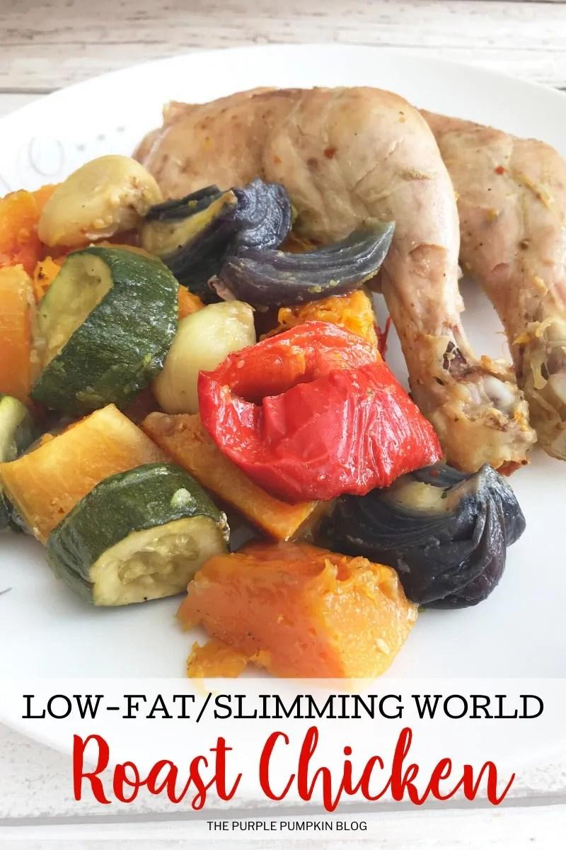 Low-Fat/Slimming World Roast Chicken