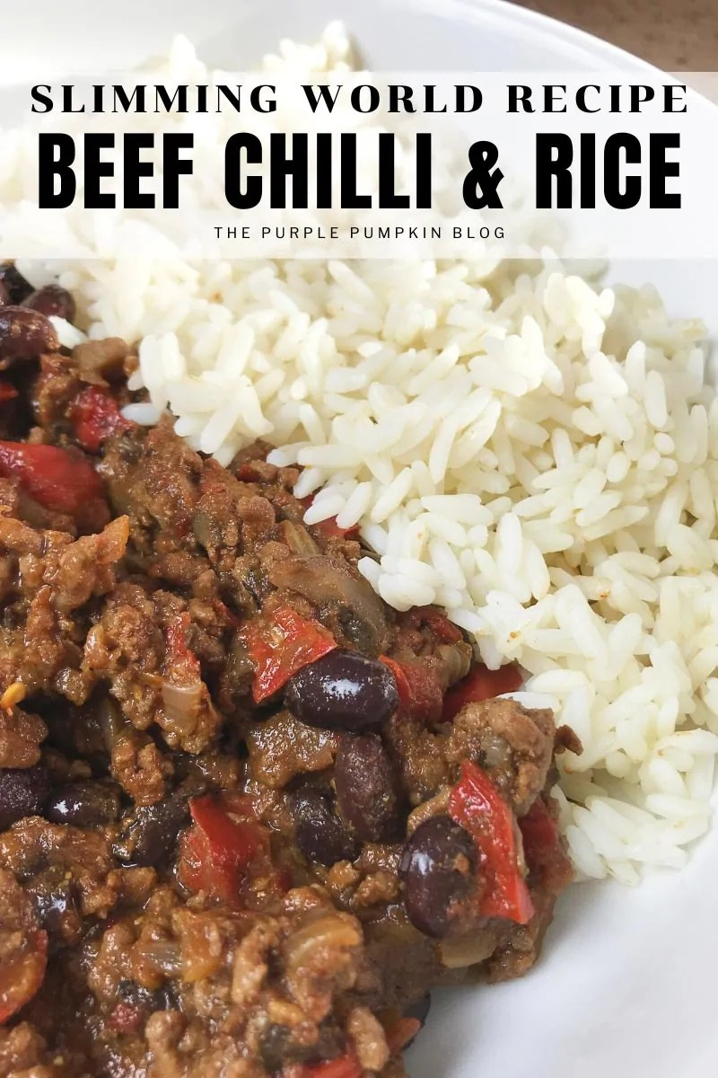 Slimming World Recipe - Beef Chilli & Rice