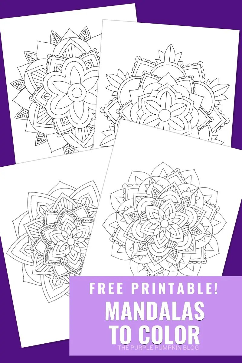 Free Printable Mandalas To Color
