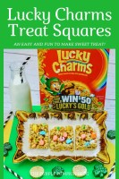 Lucky Charms Treat Squares