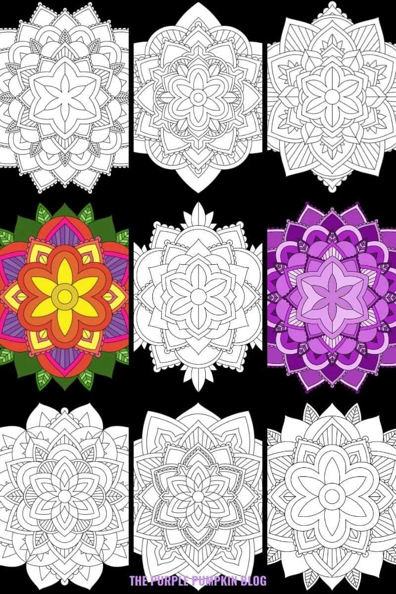 Free Mandalas To Print and Color