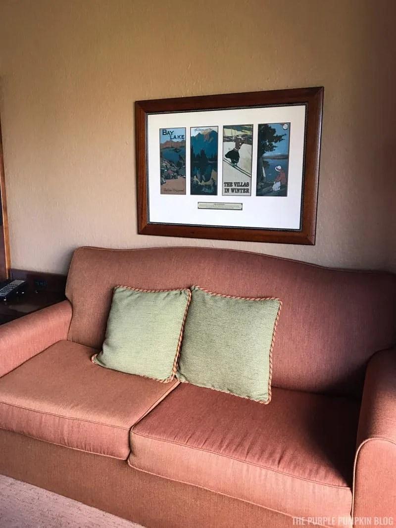 Room 3561 Boulder Ridge Villas - Sofa Bed