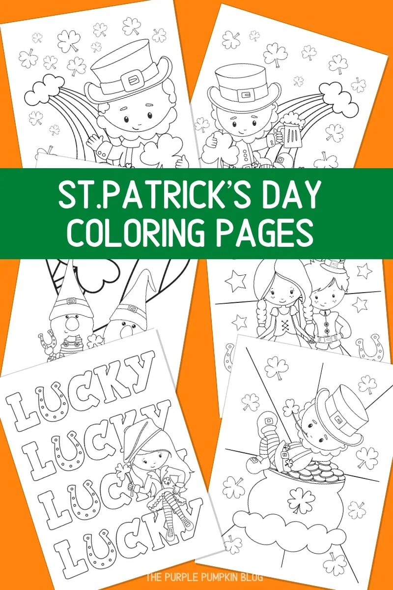 St. Patty's Day Coloring Pages
