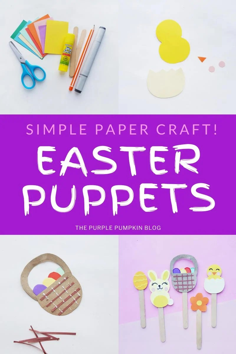 Simple Paper Craft - Easter Puppets!