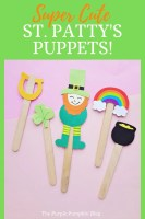 Super Cute St. Patty's Puppets