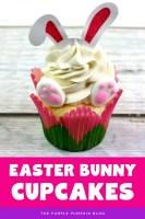 Adorable Easter Bunny Cupcakes