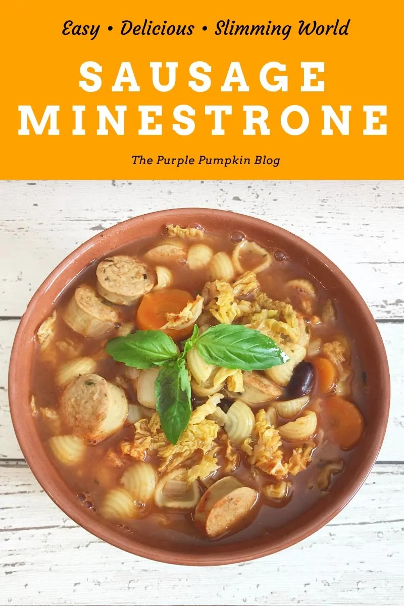 Easy Delicious Slimming World Sausage Minestrone