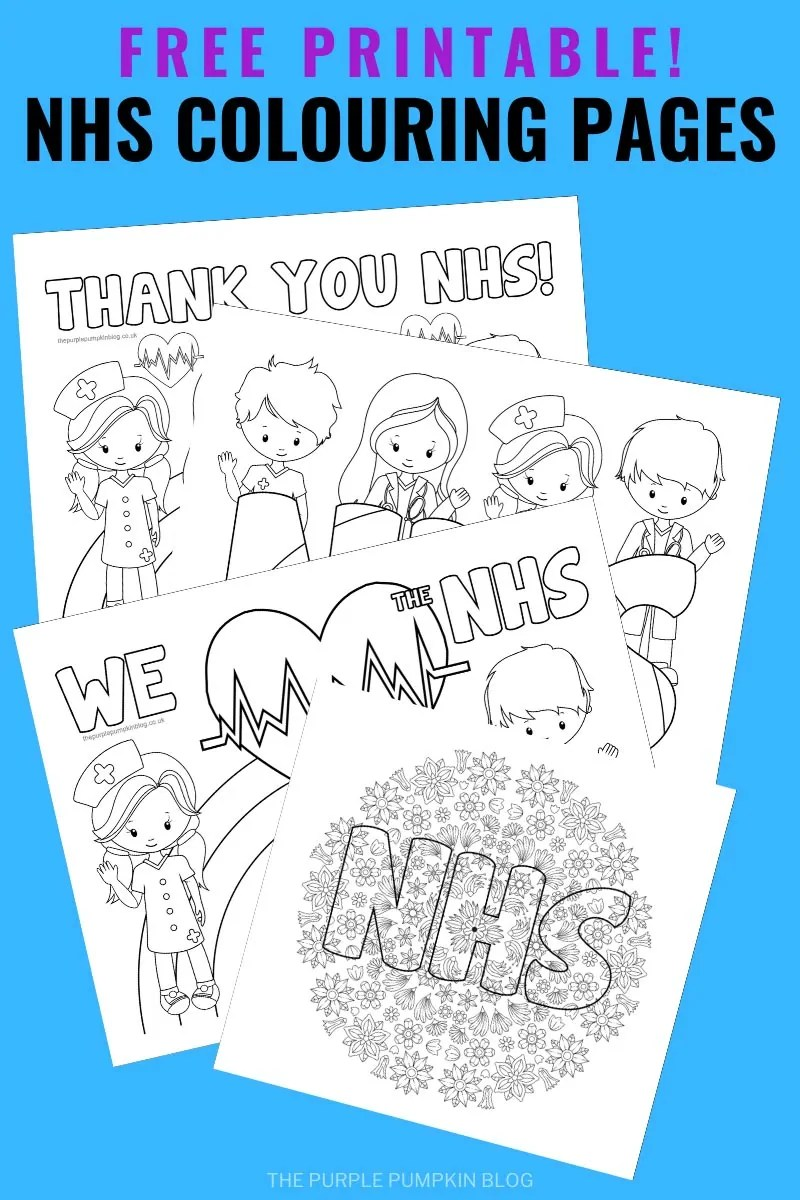 Free Printable NHS Colouring Pages