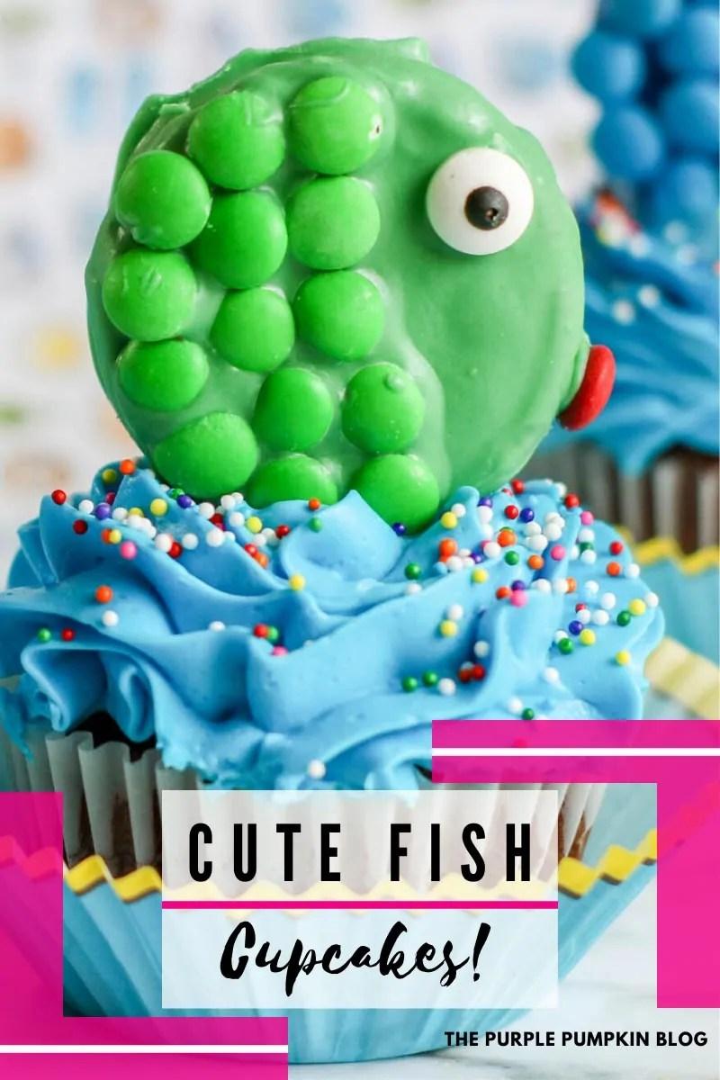 Cute Fish Cupcakes