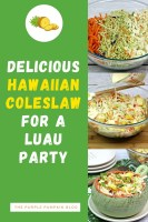 Delicious Hawaiian Coleslw for a Luau Party