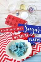 Fourth of July Sugar Scrub Bars