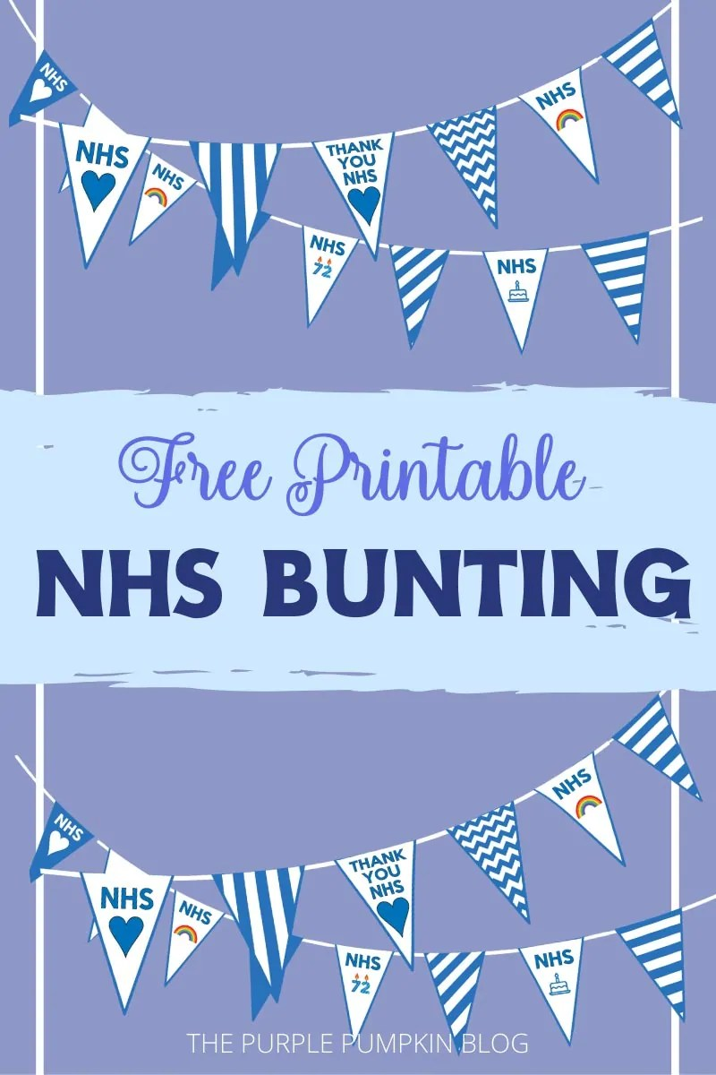 from £7.50  NHS best  bunting  lots of  Sizes thank you nhs bunting