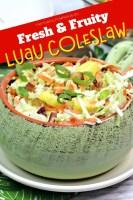 Fresh & Fruity Luau Coleslaw