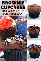 How to make Brownie Cupcakes
