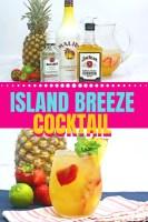 Tropical Island Breeze Cocktail