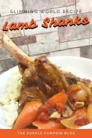 Slimming World Recipe Lamb Shanks