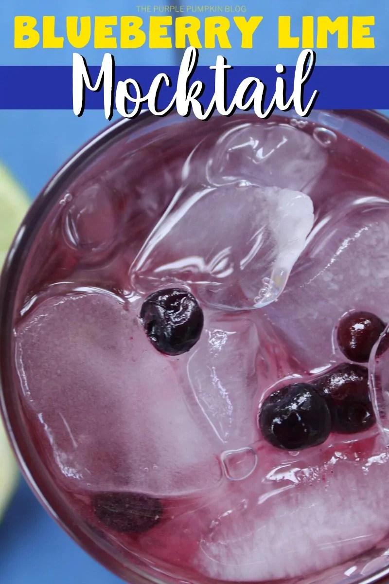 Blueberry Lime Mocktail