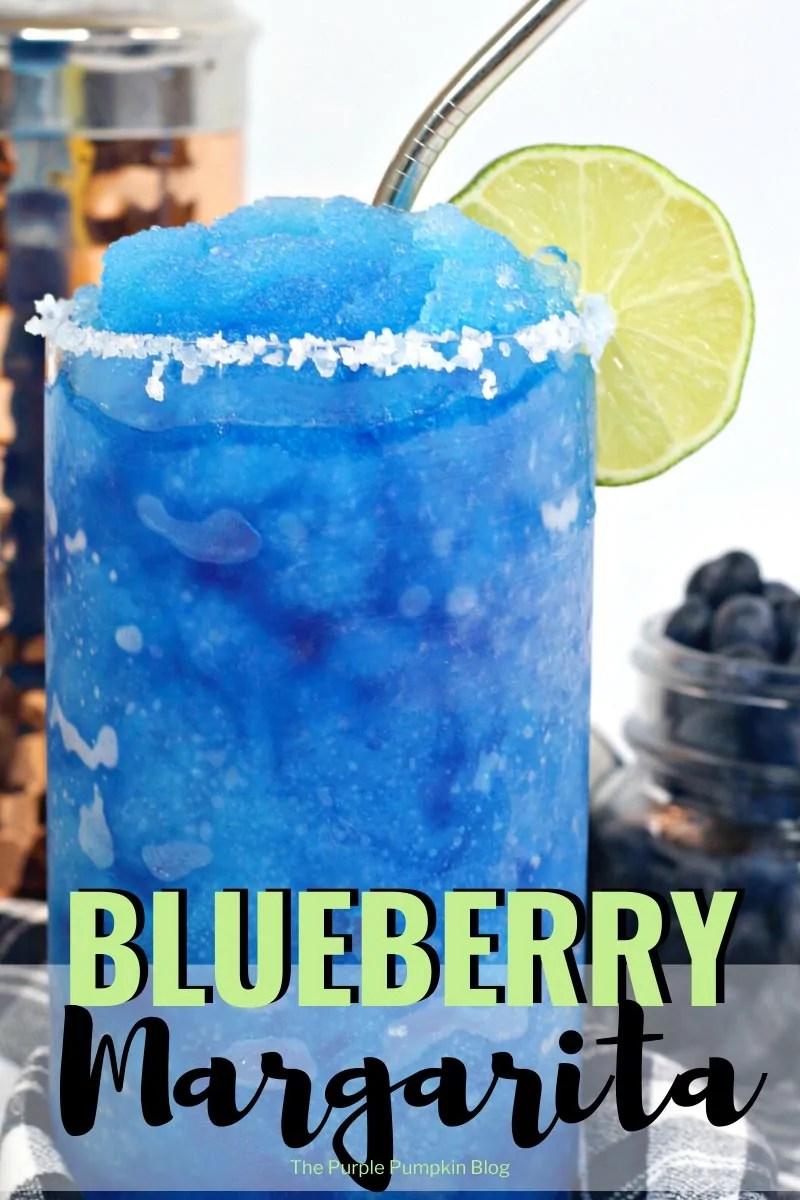 Blueberry Margarita Cocktail