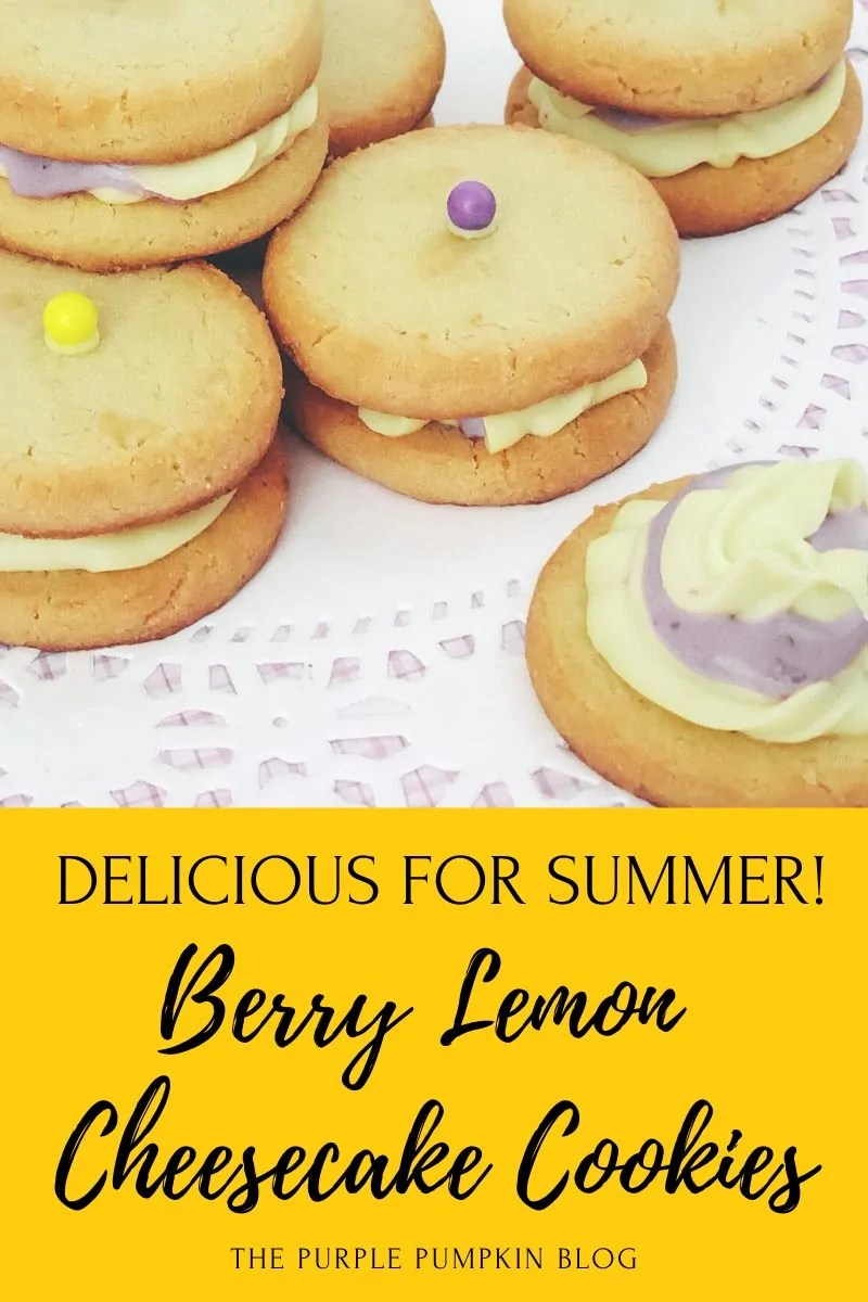 Berry Lemon Cheesecake Cookies